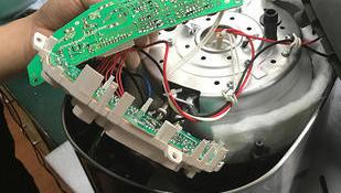 夏普电饭煲误插220V电源烧坏故障修理日本进口电饭锅维修中心