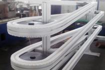 柔性链螺旋缓存输送线