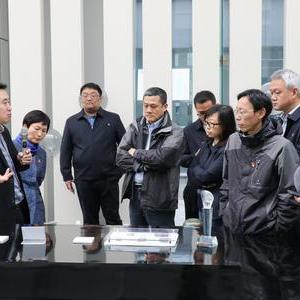 上海机场集团领导到访北斗西虹桥基地