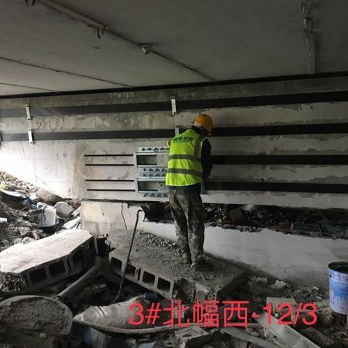 S26跨铁路桥预应力碳纤维板加固工程