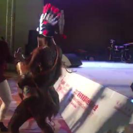非洲黑人手鼓演出視頻