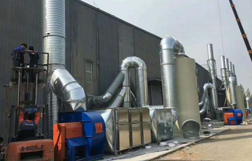 油漆废气处理设备