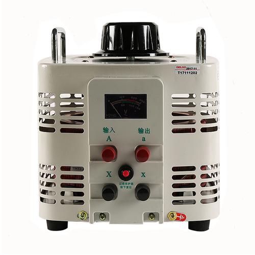 单箱接触式调压器