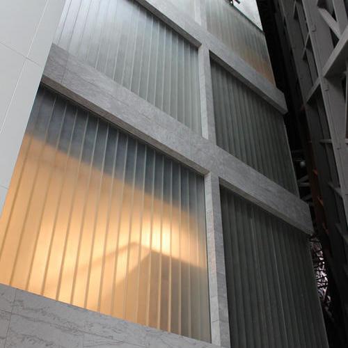 重慶璧山藝術中心U型玻璃項目