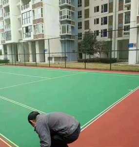 四川省丙烯酸网球场施工案例