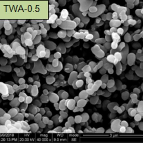 颗粒状氧化铝微粉SEM