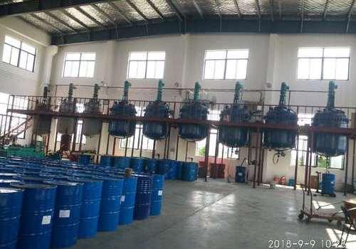 單組份聚氨酯膠粘劑生產車間(三)