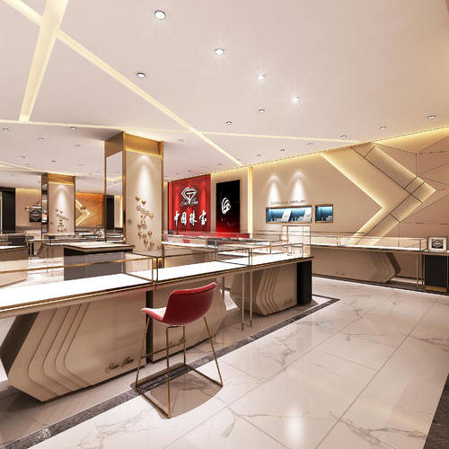 风格独特的珠宝店设计,为你呈现美好的设计服务