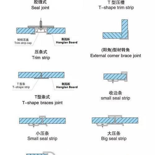 衡岚冰火板线条拼接方法