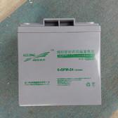 6-GFM-24 12V24AH 科华蓄电池 铅酸免维护 密封阀控式