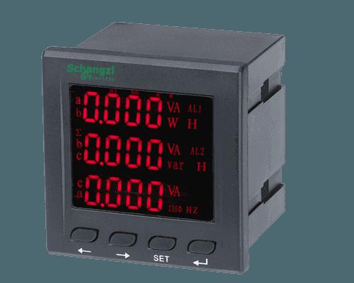 多功能電力儀表/多功能網絡儀表/三相電流電壓表/雙電源隔離開關