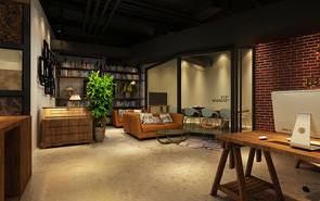 「上海办公室装修」办公室前台是体现公司形象的门户所在