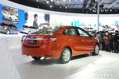 丰田新一代威驰正式发布 即将上市销售