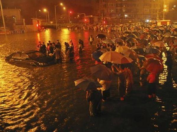 北京721 私家车主被淹死在广渠门桥下