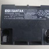 12V24AH 山特蓄电池 铅酸免维护 密封阀控式