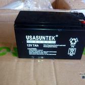 12V7AH 山特蓄电池 铅酸免维护 密封阀控式