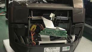 象印NP-WD电饭煲误插电源烧坏故障修理 日本进口象印电饭煲维修中心