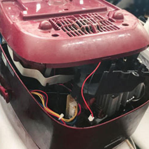 松下SR-SSS电饭煲误插电源烧坏故障修理日本进口电饭锅维修中心