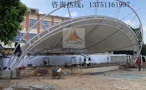 深圳光明塘家社区公园舞台膜结构工程