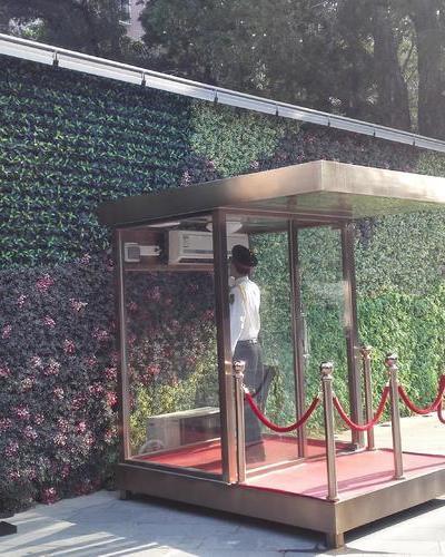 廣州海譽居綠化墻案例