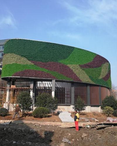 國貿中心綠化墻案例