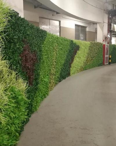 環貿廣場綠化墻案例