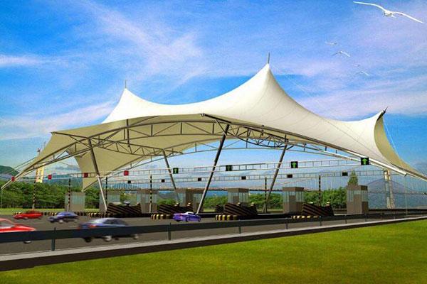 雨棚膜结构设计公司-图2