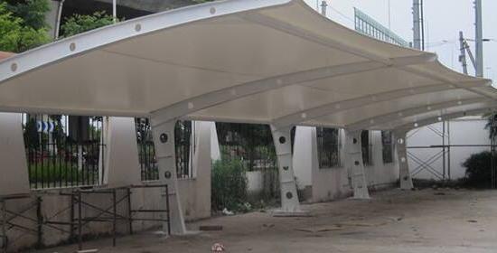 停车棚选择膜结构需要考虑哪些问题