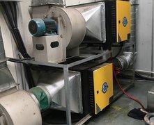 精密数控车间:油雾净化设备