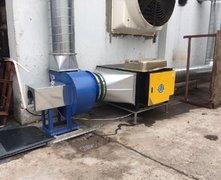 电焊车间:烟雾净化设备