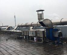 注塑机工厂:油烟异味净化设备