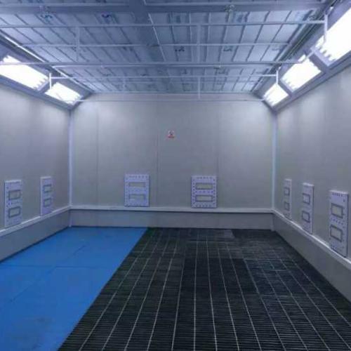 烤漆房的温度控制系统