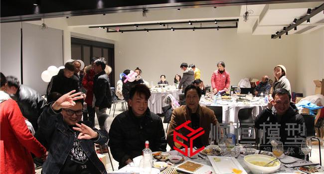 """上海順恒模型2018年終感恩會""""風雨同行、輝煌同慶""""!"""