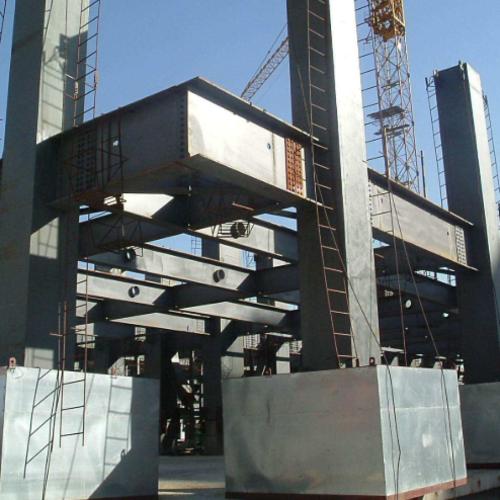 樓頂加層鋼結構