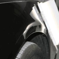 荣威e950前叶子板深度凹陷修复