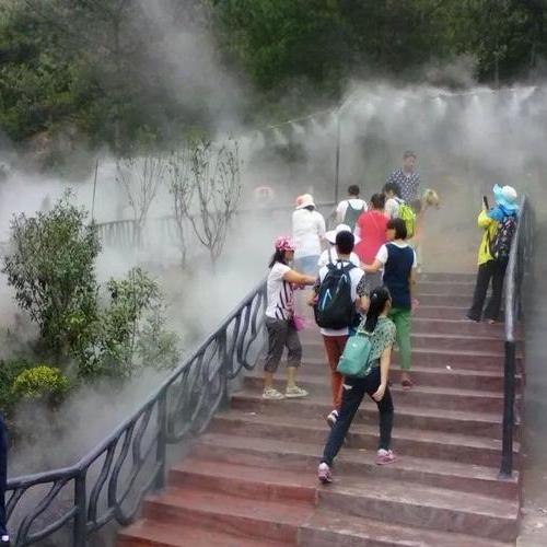 旅游区喷雾降温