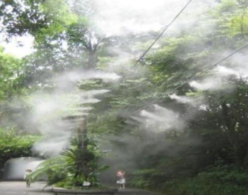 公园喷雾降温