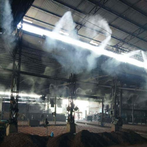 火力发电厂原料筛子喷雾抑尘