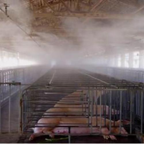 养殖场喷雾消毒降温