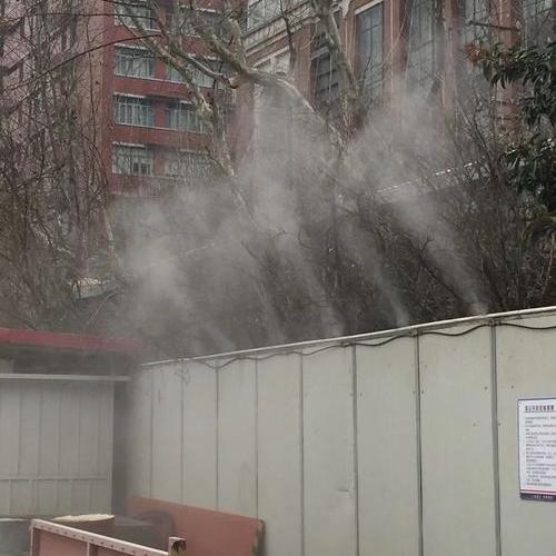 工地围墙降尘