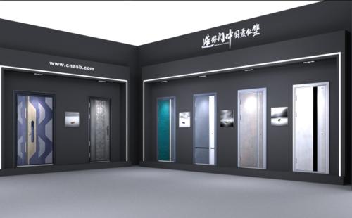 门业专卖店,展厅设计,建材市场装修设计