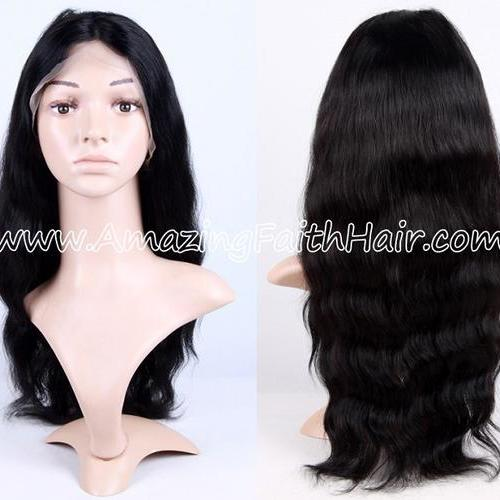 Full Lace Wig Black Wave