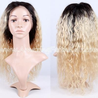 Full Lace Wig T Color Curly