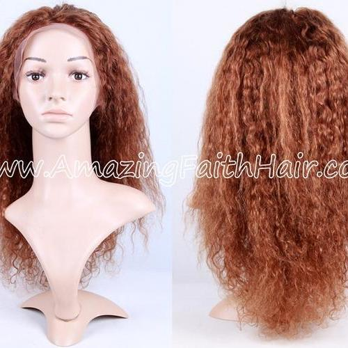 Lace Front Wig Curly 16inch