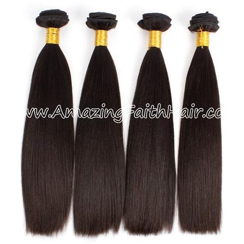 Remy Hair Weft Double Drawn Straight