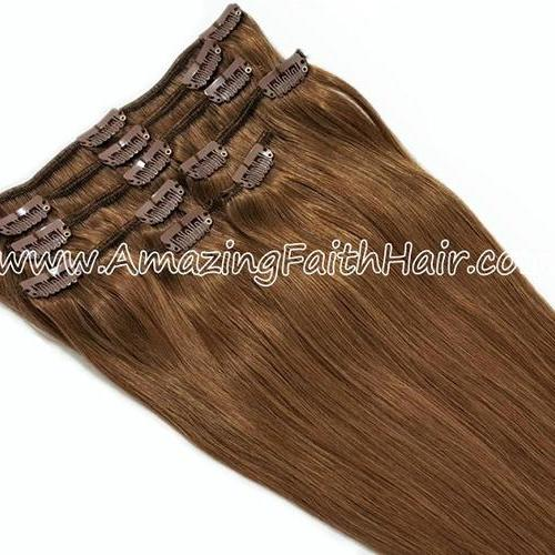 Clip-In Hair Brown