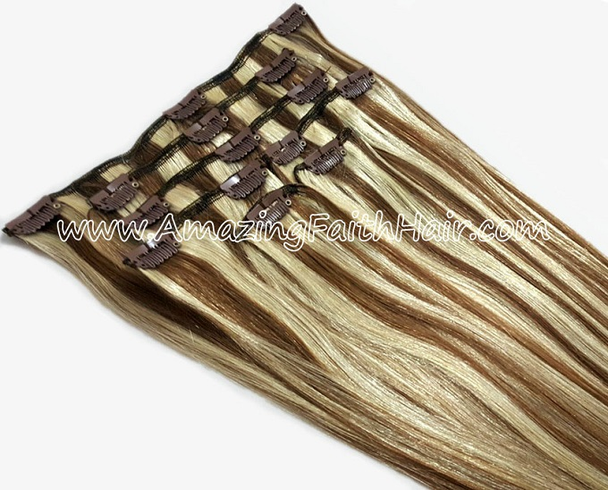Clip-In Hair Blonde Brown P Colors AFHH.jpg
