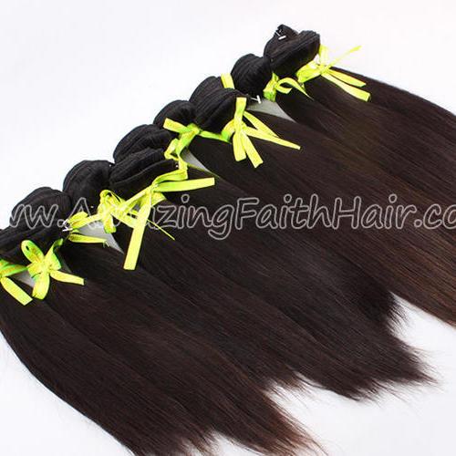 Virgin Cuticle Hair Straight
