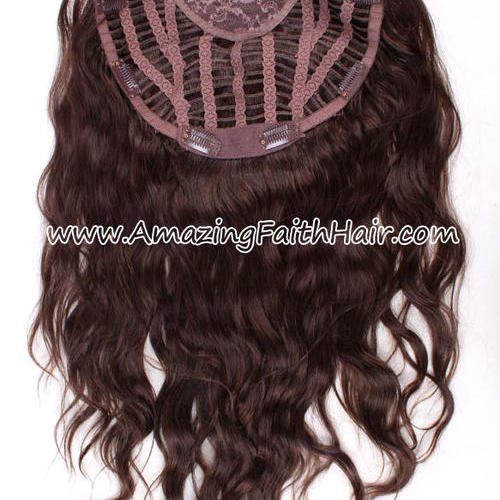 Clip-In Half Wig Brown