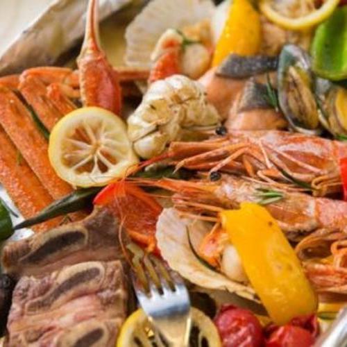 各种海鲜类的英文怎么说?